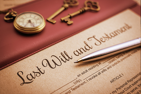 An image of a will