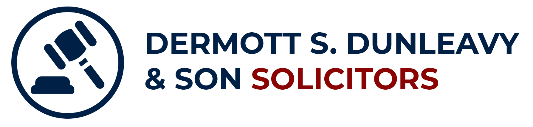 The Dermott S. Dunleavy & Son Solicitors Logo